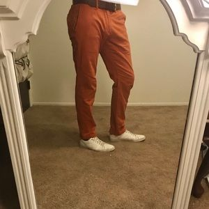 Abercrombie & Fitch Burnt Red Skinny Chino - 34/32
